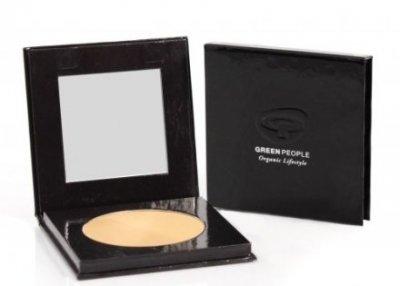 Пудра Компактная пудра для лица Green People Pressed Mineral Powder SPF15 Caramel Medium (5034511005730)