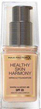 Тональное средство Тональная основа Max Factor Healthy Skin Harmony Foundation 35 - Pearl Beige (8005610433127)