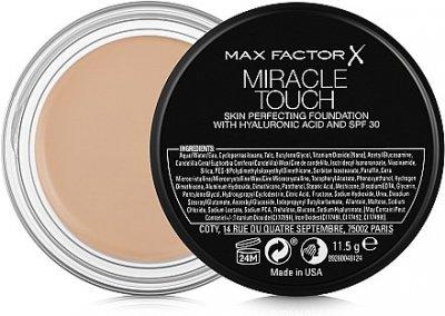 Тональное средство Тональная основа Max Factor Miracle Touch SPF30 80 - Caramel (3614227962897)