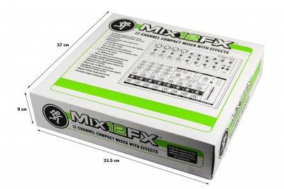 Компактний мікшер 12 каналів Mackie MIX12FX