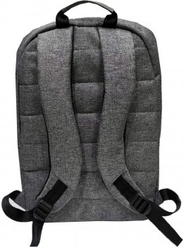 """Рюкзак для ноутбука Kodor Universal Oxford 600D 15.6"""" Grey (Н0014)"""