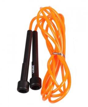 Скакалка гімнастична LiveUp PVC Speed Jump Rope 3115 orange 79809