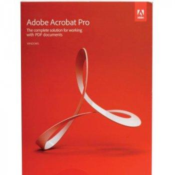 Adobe Acrobat Pro 2020 Multiple Platforms Ukrainian (безстрокова) AOO License TLP 1 ПК (65310723AD01A00)