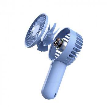 Портативний Вентилятор VH Portable Handheld Fan (F03) Blue