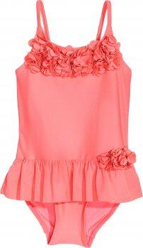 Купальник H&M 5878017 Яскраво-рожевий