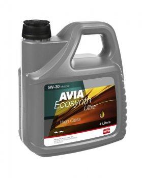 Моторне масло Avia Ecosynth Ultra 5W30 4 л