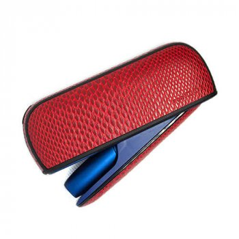 Чохол IQOS 3/3 DUO SNAKE SKIN + бічна панель RED