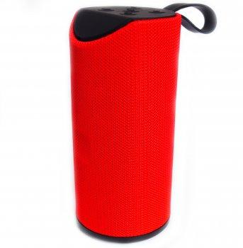 Портативная Bluetooth стерео колонка влагостойкая SPS TG-113 Красная (113 Red)