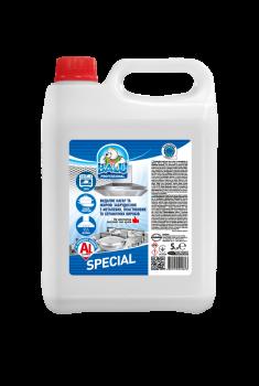 Профессиональное средство для мытья кухни и алюминиевых поверхностей Balu Special 5 л
