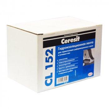 Гідроізоляційна стрічка Ceresit CL 152 10м/пог