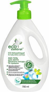 Гель для мытья детской посуды и игрушек ECO Control 700 мл (4823080005101)