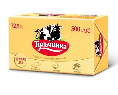 Суміш рослинно-молочна 72,5% Тульчинка брикет 500г