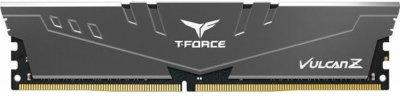 Оперативна пам'ять Team T-Force Vulcan Z DDR4-2666 16384MB PC-21300 (Kit of 2x8192) Gray (TLZGD416G2666HC18HDC01)