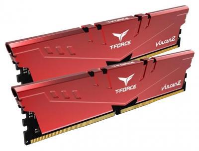 Оперативна пам'ять Team T-Force Vulcan Z DDR4-3000 16384MB PC-24000 (Kit of 2x8192) Red (TLZRD416G3000HC16CDC01)