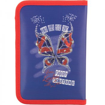Пенал школьный Kite 621 Winx fairy couture W17-621 Синий