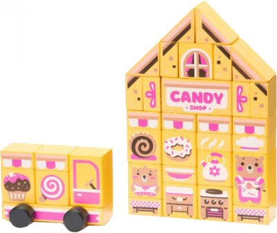 Конструктор Cubika Candy shop LDK1 (4823056515115)