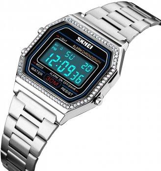Жіночий годинник Skmei 1474BOXSI Silver BOX