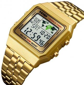 Чоловічий годинник Skmei 1338BOXGD Gold BOX