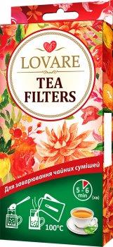 Упаковка фильтр-пакетов Lovare Tea Filters для заваривания чая 50 шт х 2 шт (2000006781291)