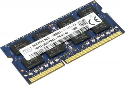 Оперативна пам'ять Hynix SODIMM DDR3L-1600 8192MB PC3L-12800 (HMT41GS6BFR8A-PBN0)