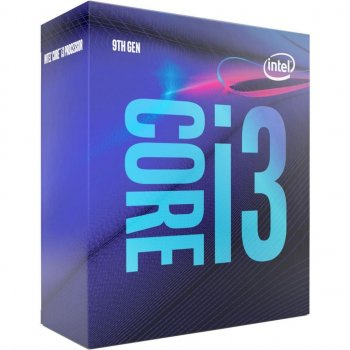 Процесор Intel Core i3-9100 3.6 GHz/8GT/s/6MB (BX80684I39100) s1151 BOX