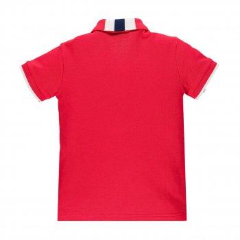 Рубашка поло для мальчика BRUMS 191BFEP002-420 красный