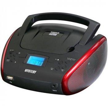 Стереомагнитола Mystery BM-6114U black+red