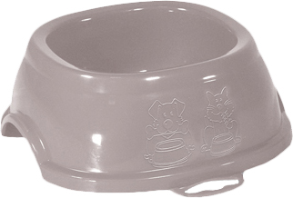 Пластикова миска для собак і кішок Stefanplast Break 5 3 л 13 х 33 х 33 см Ніжно-рожева (8003507960817)
