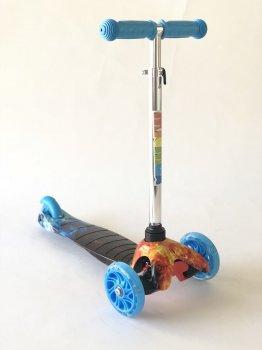 Самокат дитячий Scooter 038B Синій