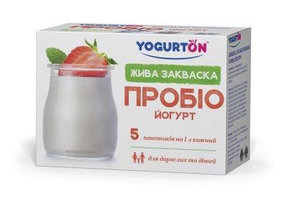 Бактеріальна закваска «Пробіо Йогурт YOGURTON»