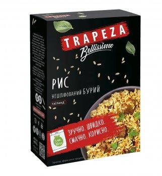 """Крупа рисова TRAPEZA нешліфована """"Нешліфований бурий Таїланд"""" 400 г"""