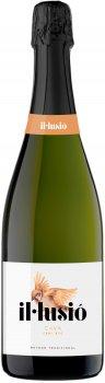 Вино игристое IL Lusio Cava Semi Sec белое полусухое 0.75 л 11.5% (8410644122129)