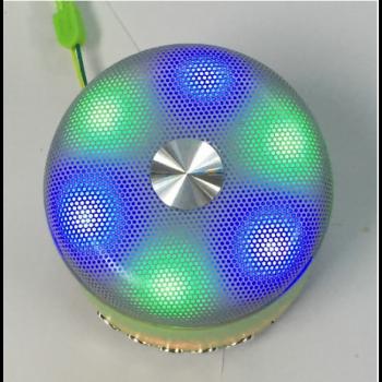 Портативна колонка Wster WS-Y93 Bluetooth бездротова акумуляторна з USB і MicroSD слотами Жовтий (11056)