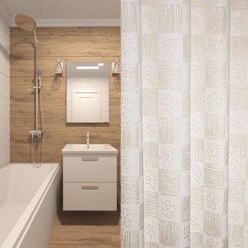 Шторка для ванни Мій Дім Toffee 180 х 200 см (NJ01555)