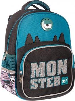 Рюкзак шкільний YES S-31 Monster для хлопчиків (558200) (5056137180585)