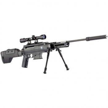 Пневматична гвинтівка Norica Black OPS Sniper 4,5 мм 305 m/c (1665.11.81)