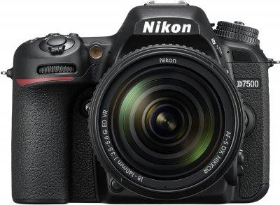 Фотоапарат Nikon D7500 AF-S DX Nikkor 18-140mm f/3.5-5.6 G ED VR Kit Black