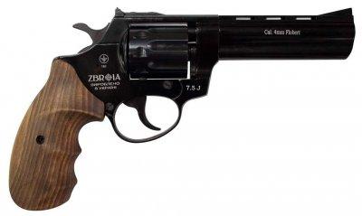 "Револьвер флобера Zbroia PROFI-4.5"" (чорний / дерево)"