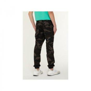 Трикотажные брюки REPORTER YOUNG хаки 011017/560