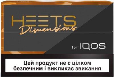 Блок стиків для нагрівання тютюну HEETS Dimensions Noor 10 пачок (7622100817505)