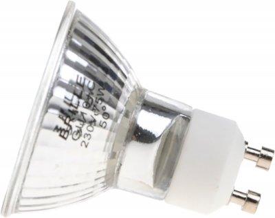 Лампа галогенна Brille MR16 75 Вт 230 В (50) GU10 Br (126643-2) 2 шт.