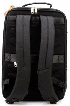 Рюкзак діловий Optima чоловічий 1.25 кг 43х29х15 см 16-25 л Чорний (61-18911)