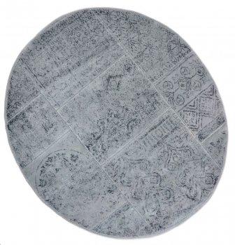 Килимок для ванної Arya Eskitme D-120 см сірий арт.TR1004842