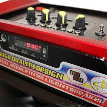 Акустична система NNS валізу комбік Bluetooth колонка підсилювач з мікрофоном Original Чорна (110059822)