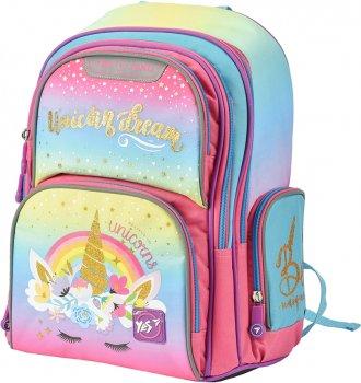 Рюкзак шкільний YES S-30 Juno жіночий 0.65 кг 28x37x16 см 16.5 л Unicorn (558013)