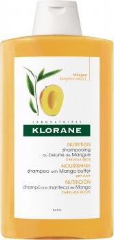 Шампунь Klorane Питательный с маслом Манго для сухих волос 400 мл (3282770106404)