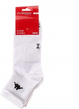 Набір шкарпеток Kappa 93151901-1 3 пари Білий