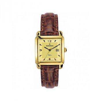 Мужские часы Romanson TL1579CMG GOLD