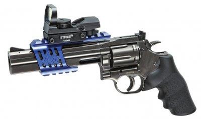 """Пневматичний Револьвер ASG DW 715 Pellet, 6"""" 4,5 мм (2370.28.82)"""