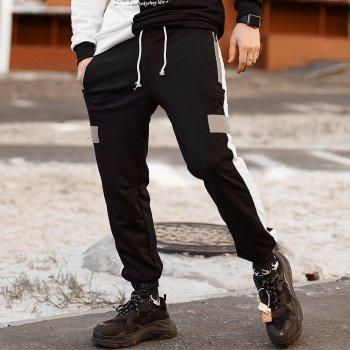 Cпортивные штаны Пушка Огонь Wline черные